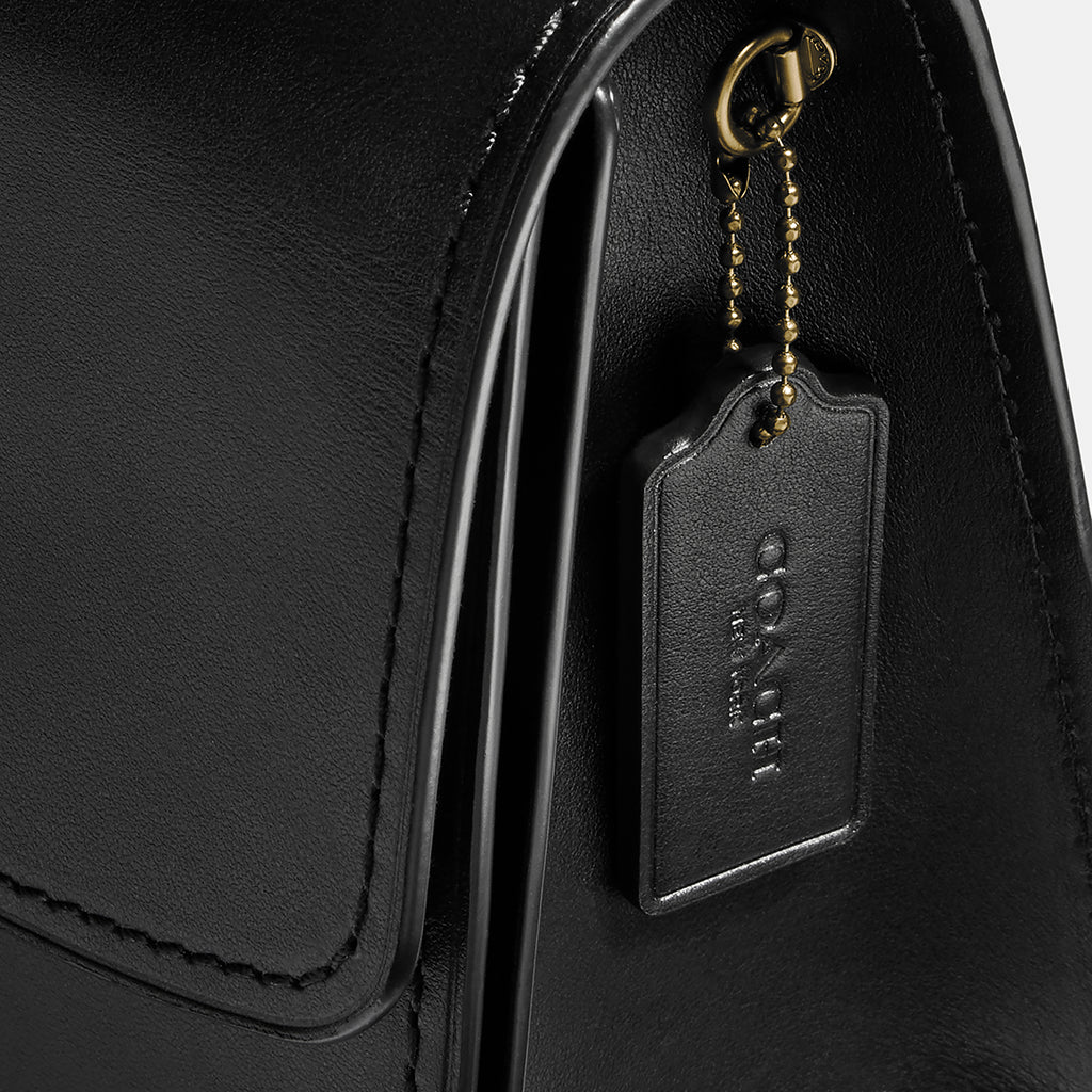 Refined Calf Leather Parker Top Handle