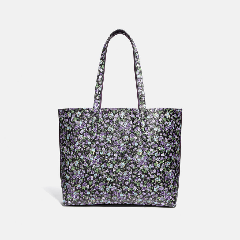 Floral Print Coach Highline Tote