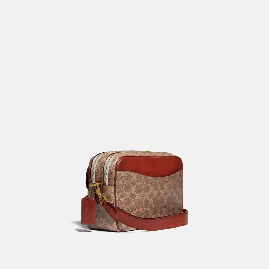 Cassie Camera Bag In Signature Canvas