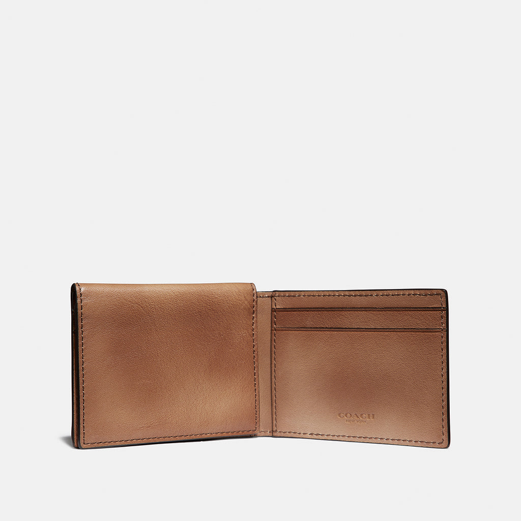 Tridold Id Wallet In Hand Dyed Sport Calf