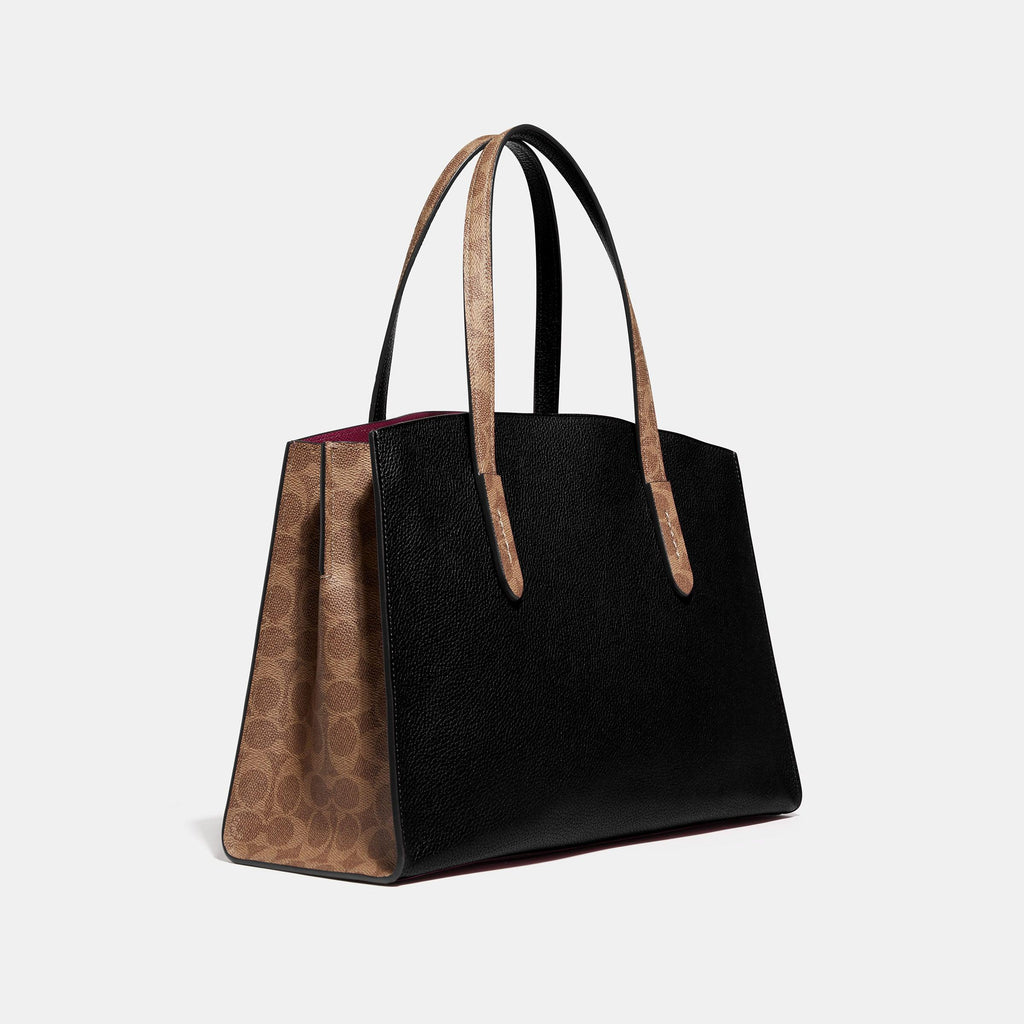 Charlie Carryall With Signature Canvas Blocking