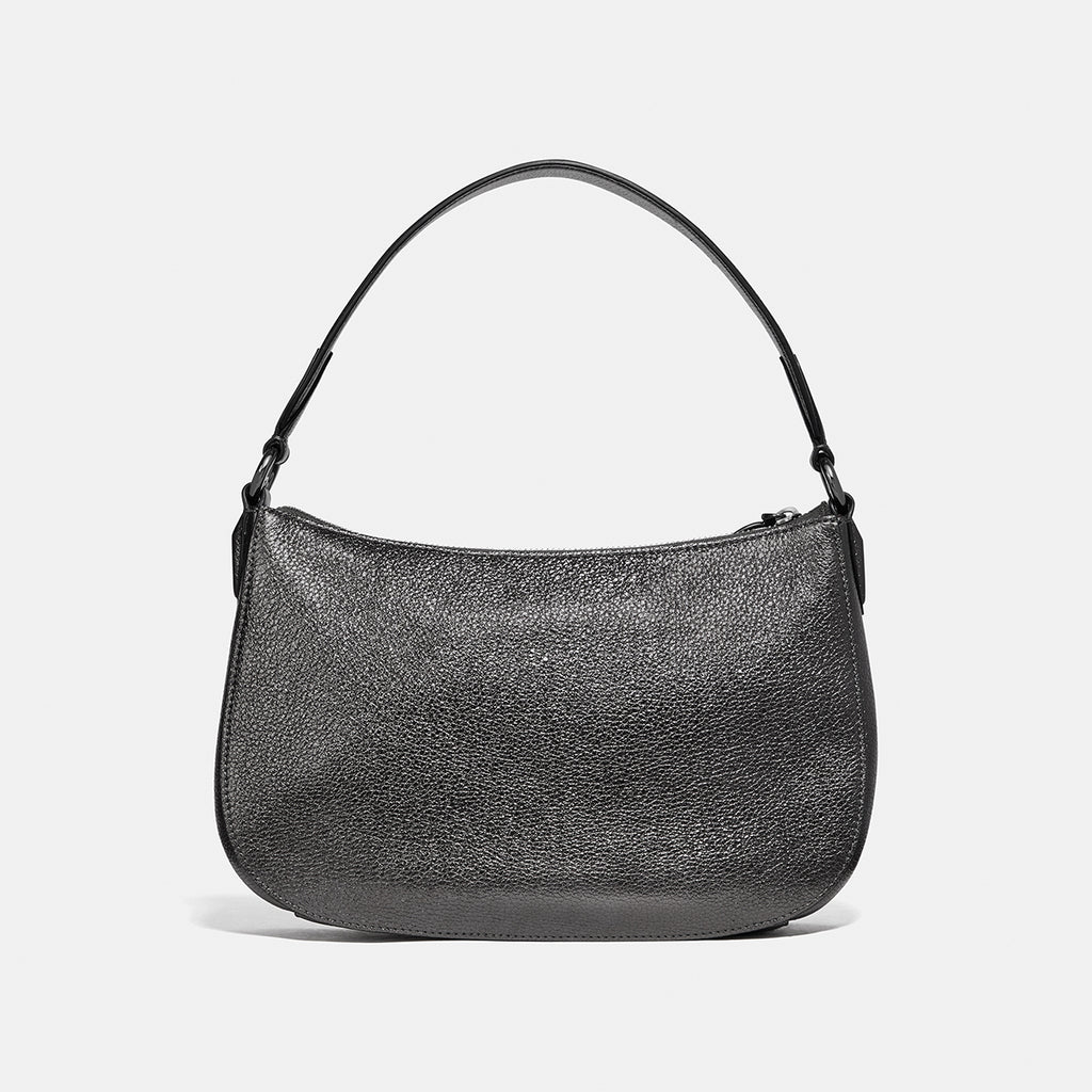 Metallic Leather Sutton Crossbody