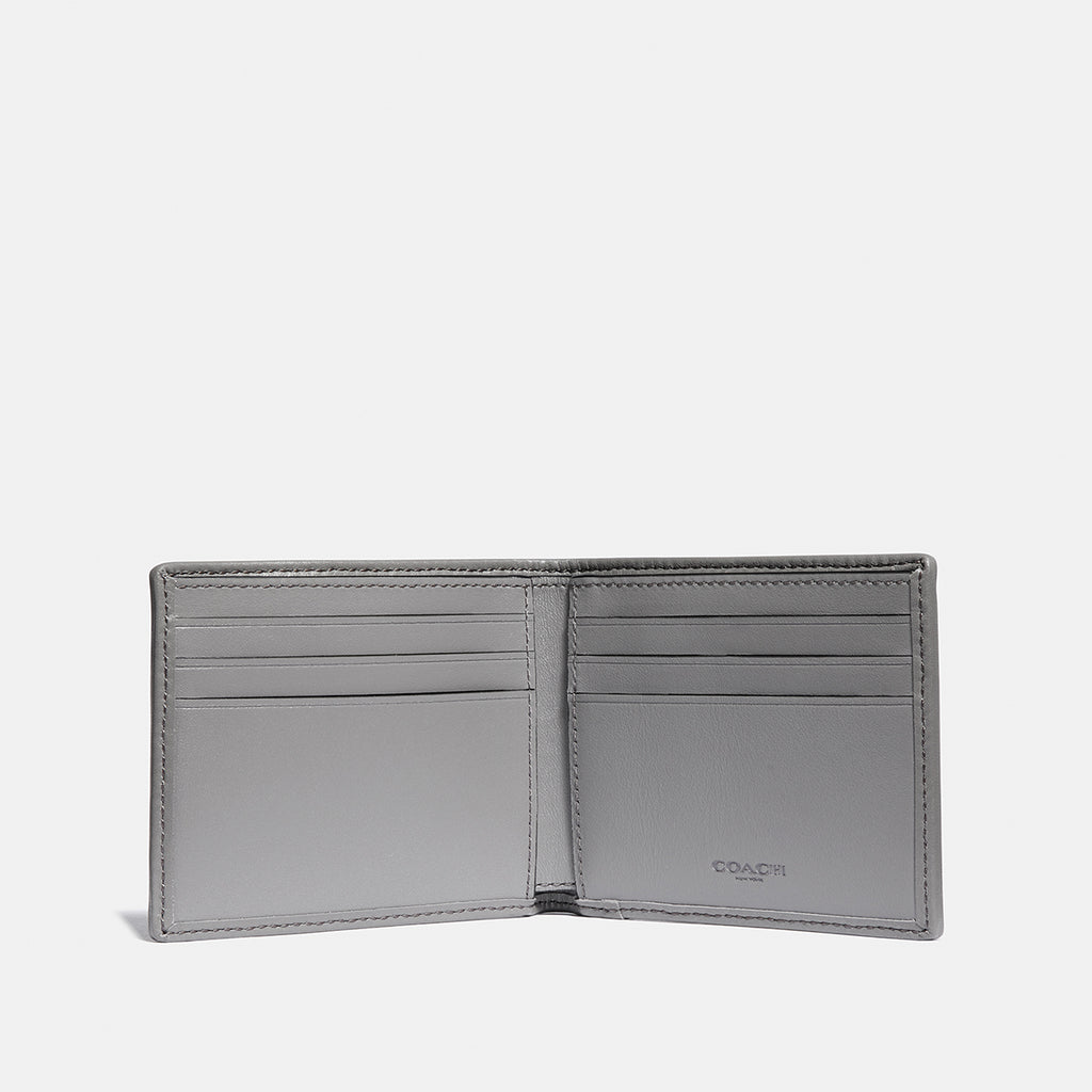 Double Billfold In Signature Jacquard