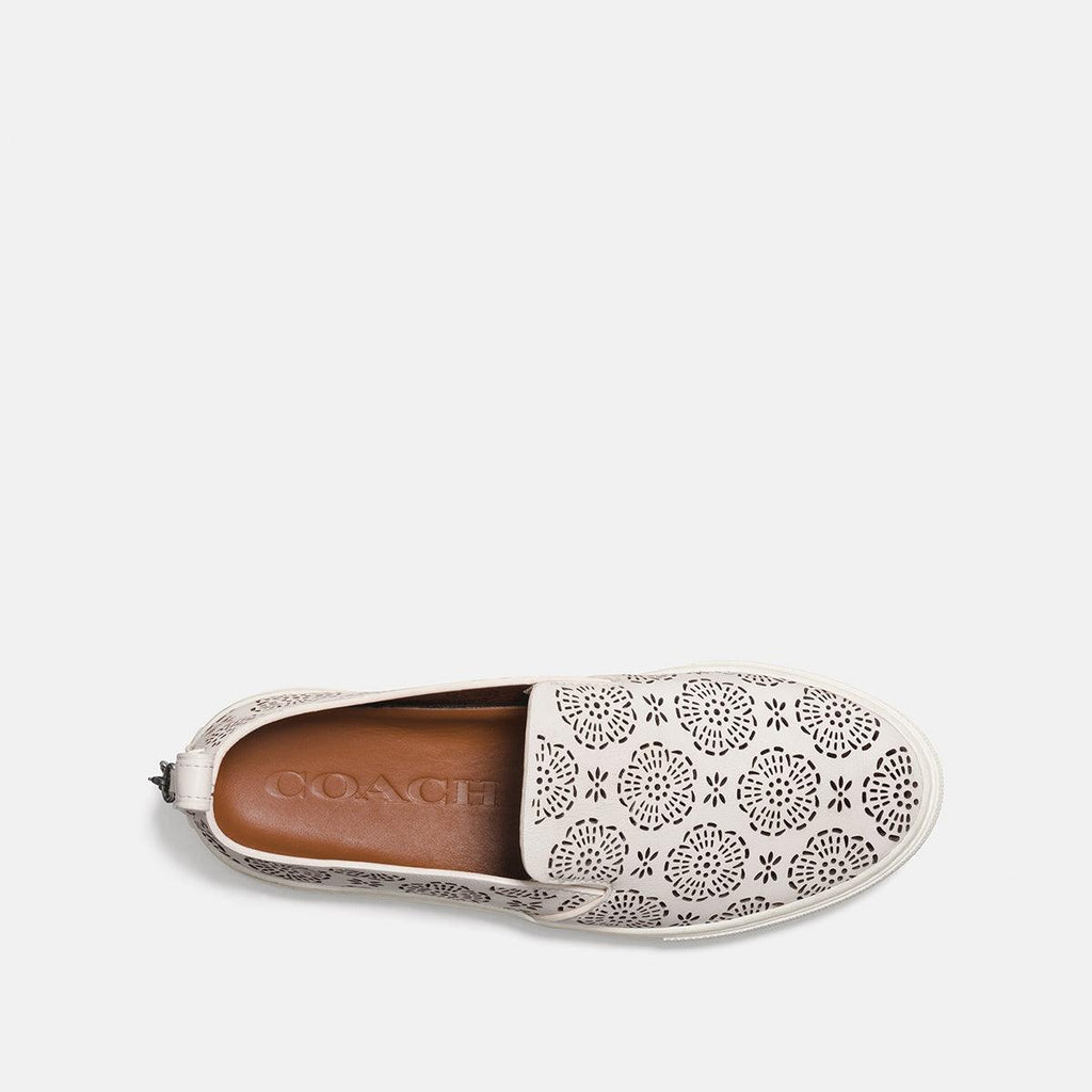 C115 Slip On Sneaker With Cut-Out Tea Rose