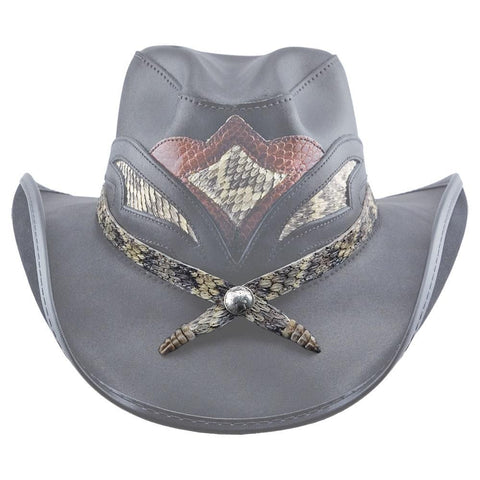 Cowboy Hat with Hat Tie