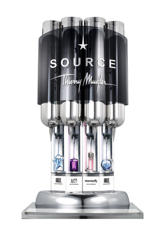 The Source Perfum Fountain by Thierry Mugler