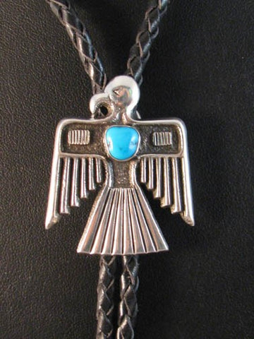 Silver Eagle Native American Scarf Slide