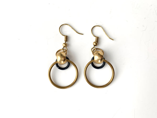 DOUBLE TROUBLE Hoop Earring