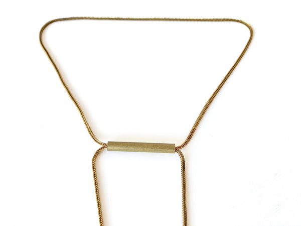 Adjustable slide bar of necklace