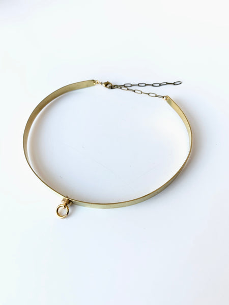 Gold Choker Collar