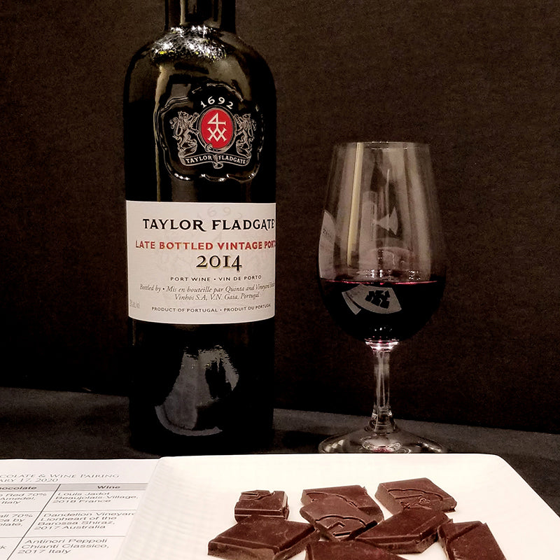 Chocolate paired with red wine, Ottawa, ON