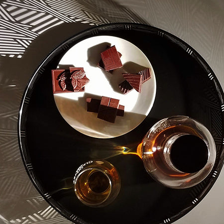 whisky paired with dark chocolate - 4 examples of pairings! JoJo CoCo, Canada