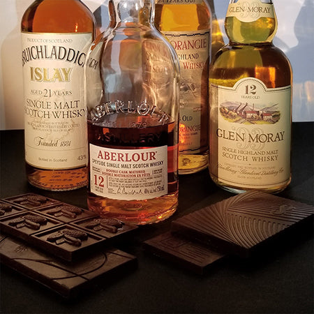 single malt whisky pairing with chocolate information flavour profile, Canada