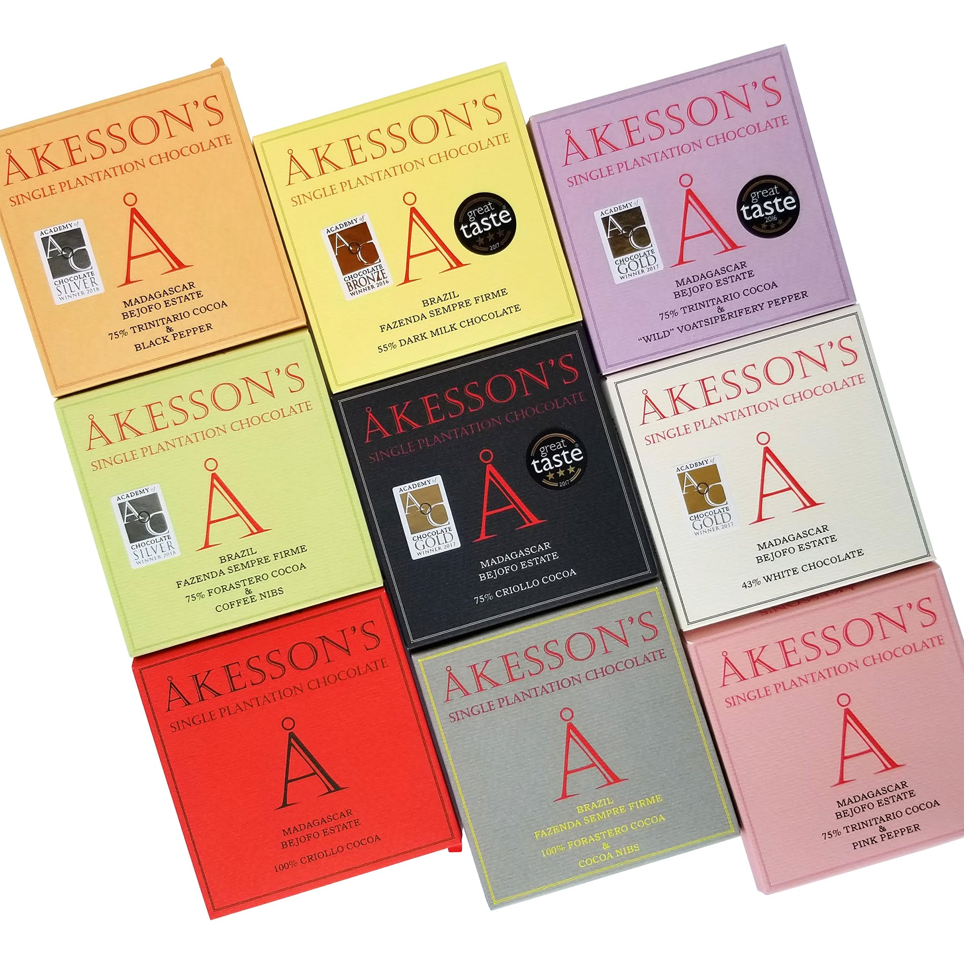 Akessons  Single Origin Chocolate in Canada