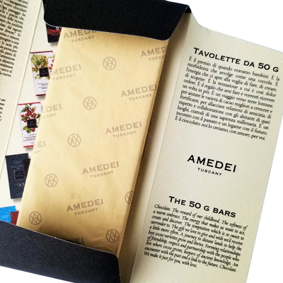 Amedei Tuscany Chocolate unwrapping