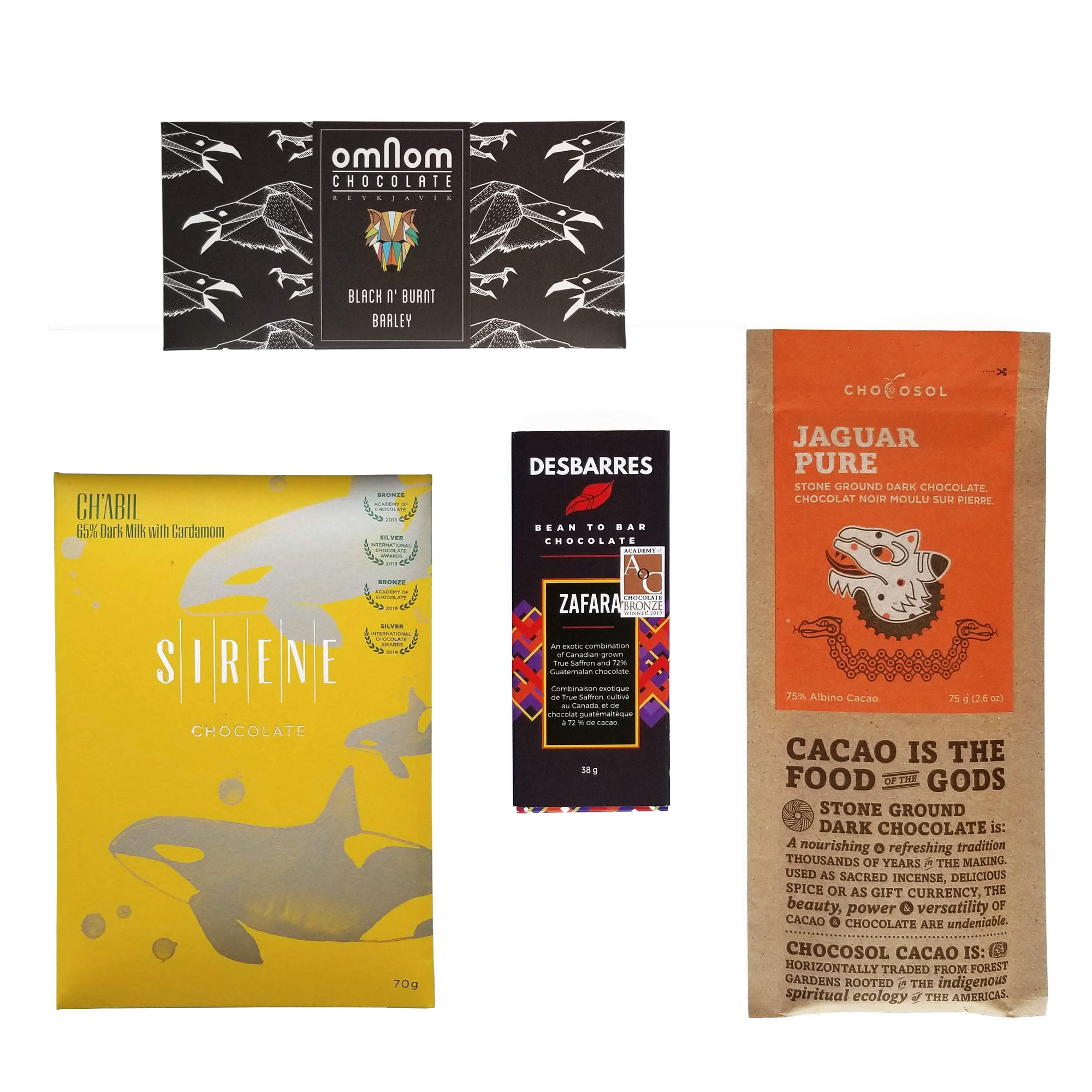 Unique Collection of bean to bar chocolate, Canada