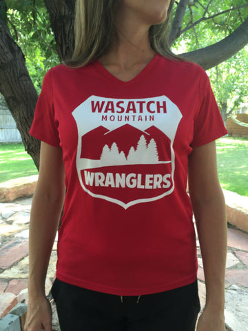 Wasatch Mountain Wranglers Womens Tech Tee