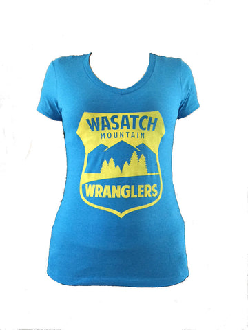 Wasatch Mountain Wranglers Logo Women's T-Shirt