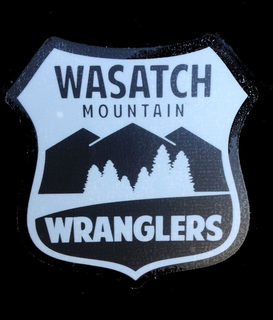 Wasatch Mountain Wrangler Sticker
