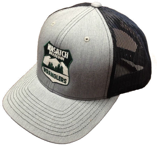 Wasatch Mountain Wranglers Trucker Hat