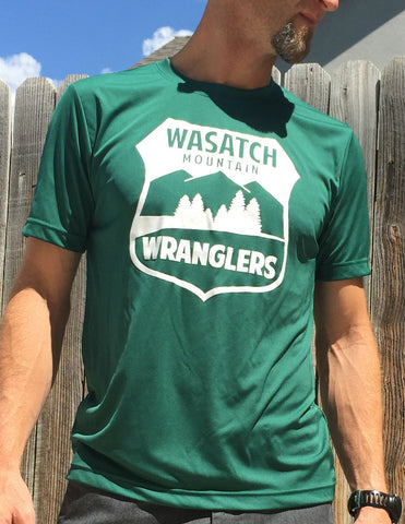 Wasatch Mountain Wrangler Men's Tech T-Shirt