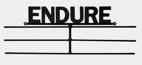 "Running Medal ""ENDURE"" Display Hanger"