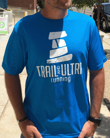 Trail And Ultra Running Men's Tech Logo Tee