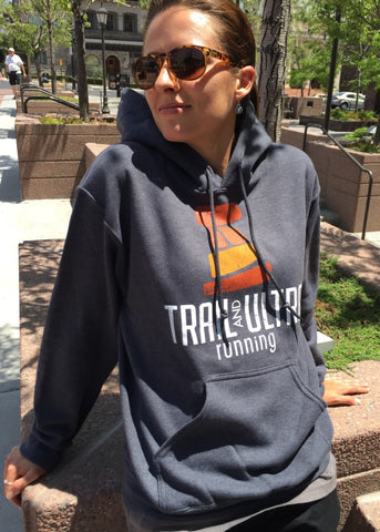 Trail And Ultra Running Logo Hoodie