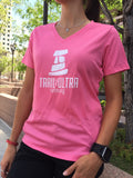 Trail And Ultra Running Women's Tech Logo Tee