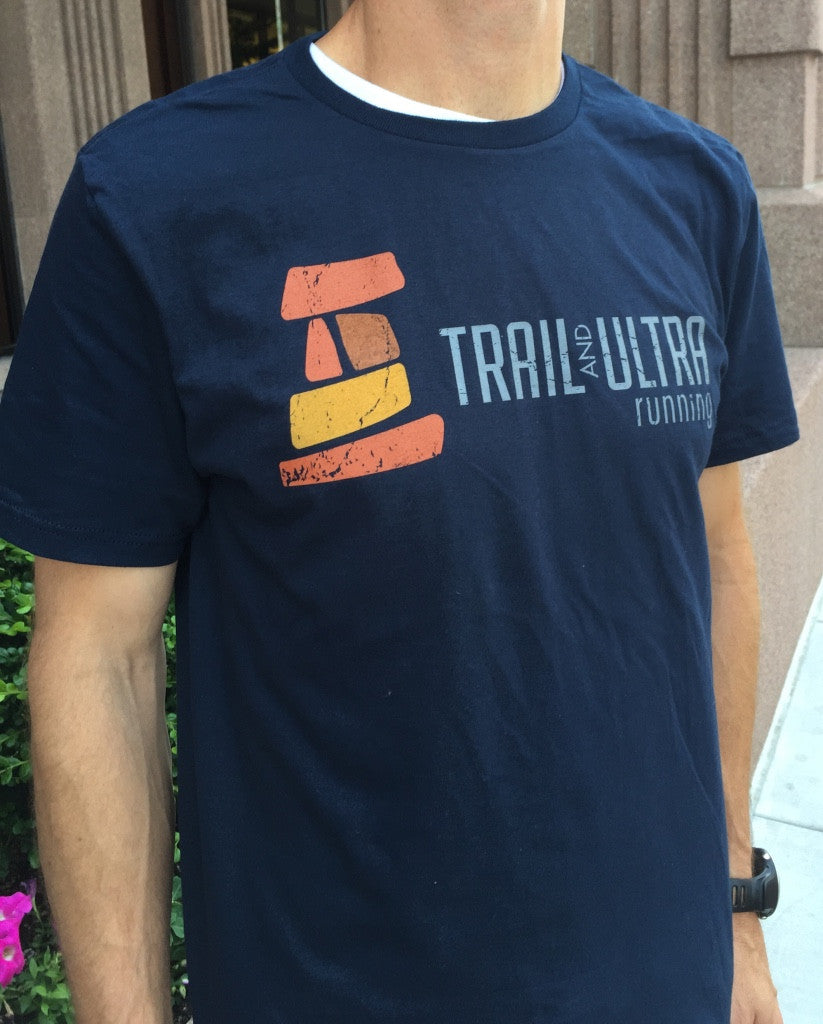 Trail And Ultra Running Men's Cotton Logo Tee