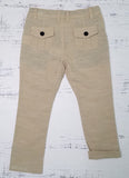 Stone Cotton Trousers