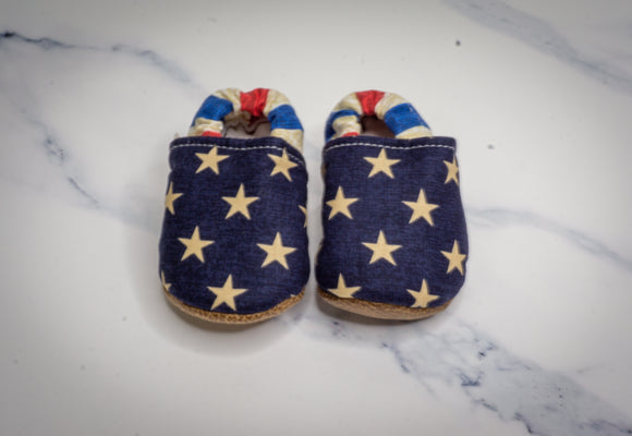 Rustic American Baby Moccasins