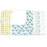 Flight Baby Burp Cloth Set - 3 Pack