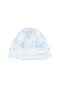 Toile Baby Hat