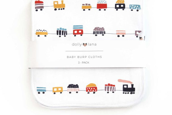 Urban Baby Burp Cloth Set - 3 Pack