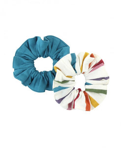 2-Pack Rainbow Hair Scrunchies