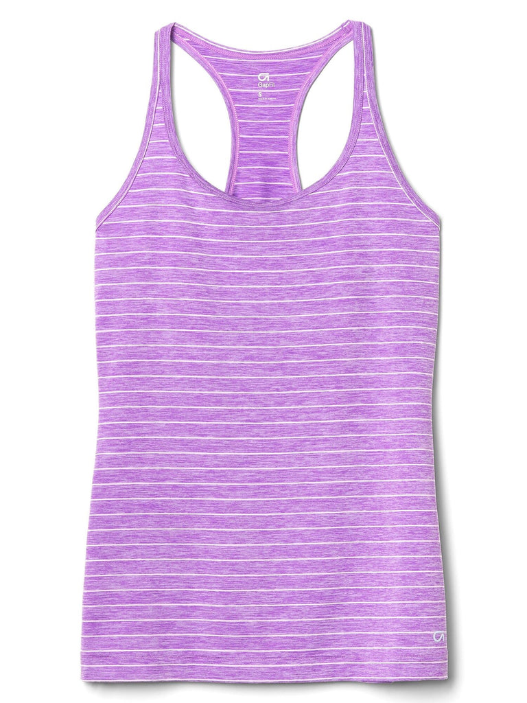 Gapfit Breathe Stripe Racerback Tank Top - Dippla.Shop