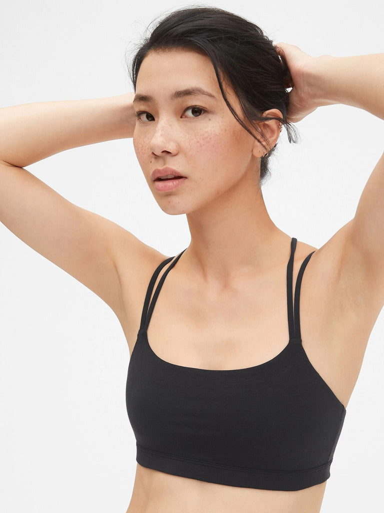 GapFit Breathe Low Support Strappy Sports Bra - Dippla.Shop