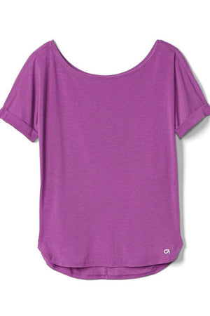 GapFit Breathe Roll Sleeve T-Shirt - Dippla.Shop