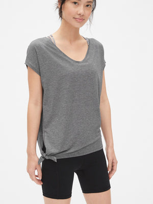 GapFit Breathe Side-Tie T-Shirt - Dippla.Shop