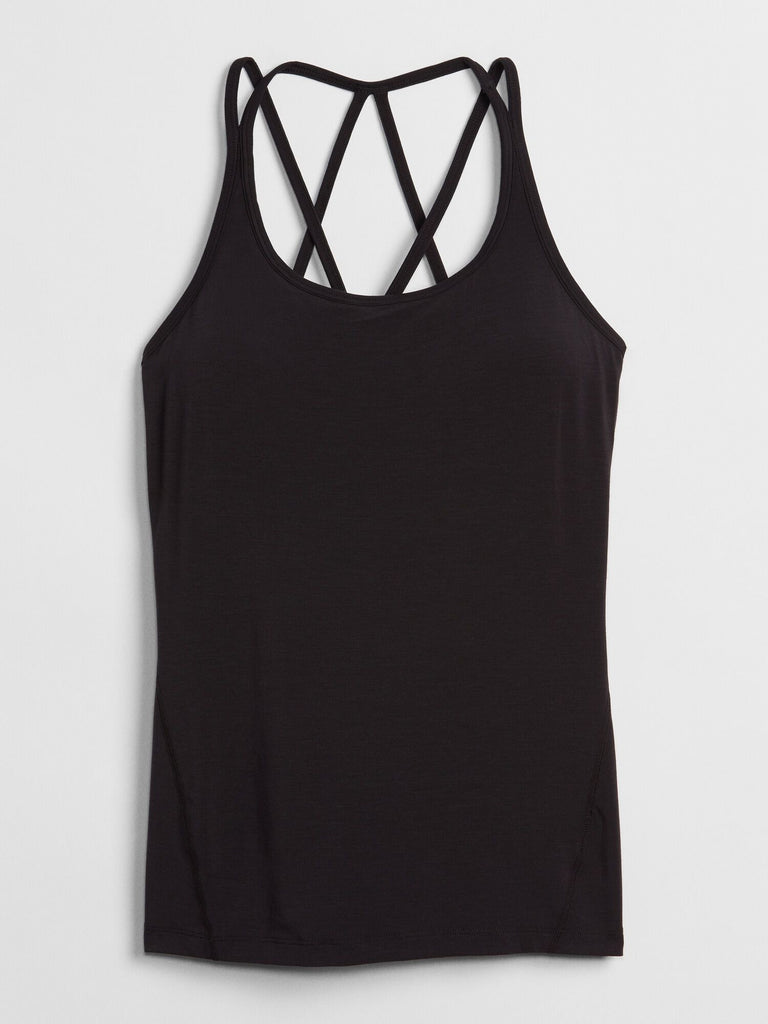 GapFit Breathe Strappy Shelf Tank Top - Dippla.Shop
