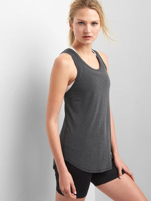 GapFit Breathe Crossback Tank - Dippla.Shop
