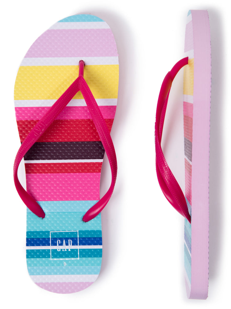 GAP - EVA Flip Flop Warm Stripe - Dippla.Shop