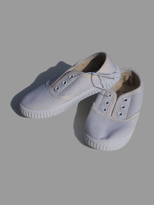 ZY Baby White Laceless Trainers (EU 22) - Dippla.Shop