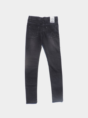Boboli denim stretch trousers