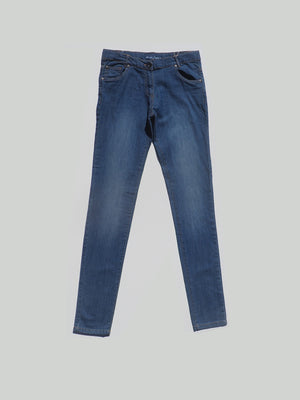 Denim stretch trousers for girl by Boboli - Dippla.Shop