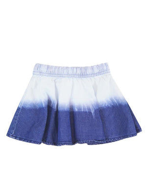Boboli Blue White Denim Skirt for Girl - Dippla.Shop