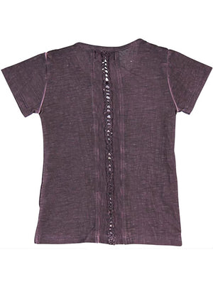 Stretch Knit T-Shirt For Girl by Boboli - Dippla.Shop