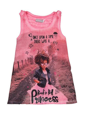 Boboli Chiffon Dress For Girl - Dippla.Shop