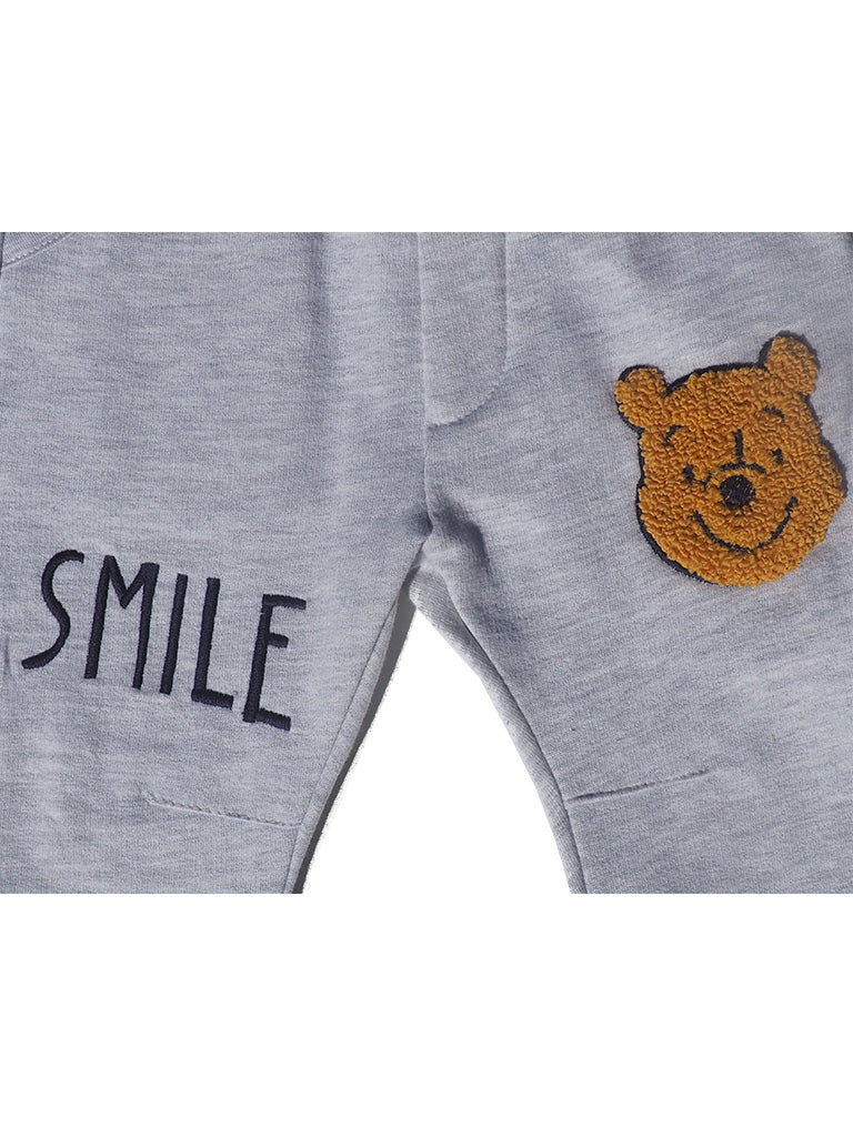 Winnie Pooh White Pull-On Trousers by Disney - Dippla.Shop